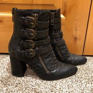 Black Freebird Julia boots